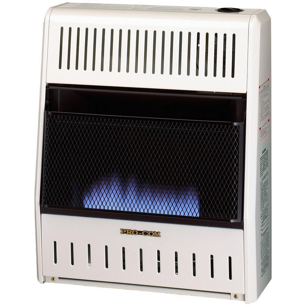 Procom 20 000 Btu Ventless Natural Gas Blue Flame Space Heater