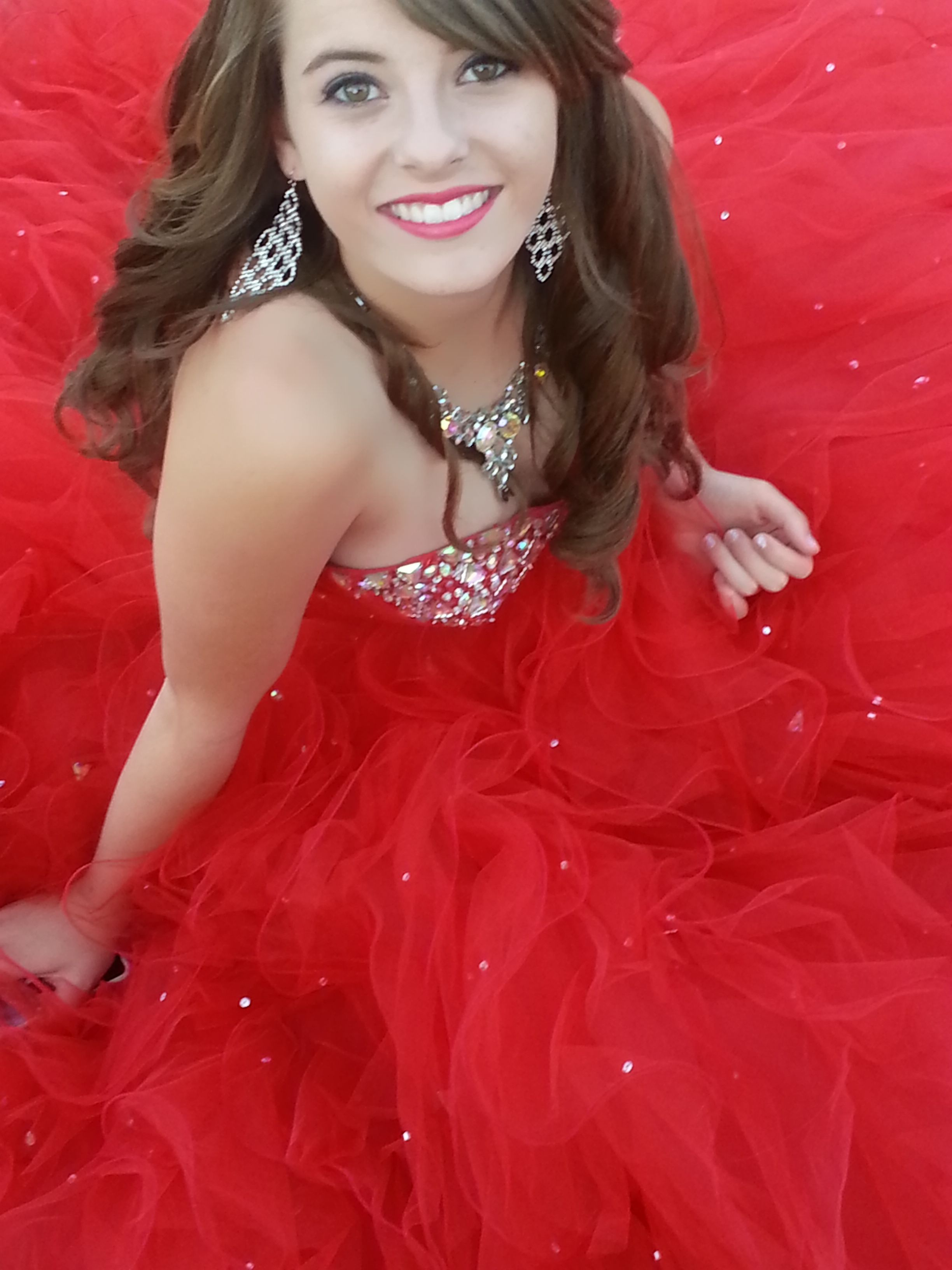 banquet prom poses red mori lee ball gown pretty prom hair prom