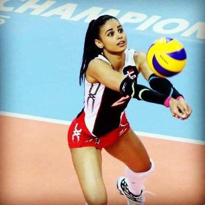 Winifer Fernandez Is A 21 Year Old Indoor Volleyball Player From Santiago Dominican Republic S Winifer Fernandez Volleyball Players Female Volleyball Players