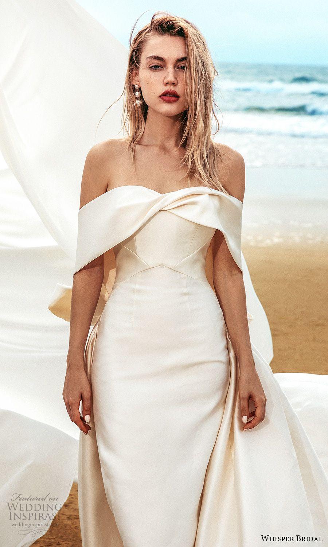 Whisper Bridal Spring 2021 Wedding Dresses Wedding Inspirasi Wedding Dresses Wedding Dress Inspiration Wedding Guest Dress [ 1500 x 900 Pixel ]