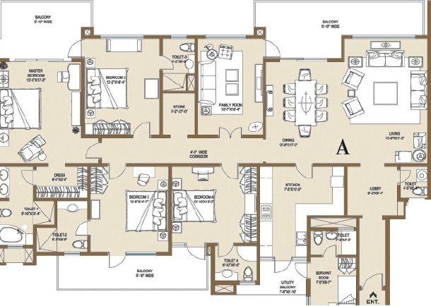 Central Park 2 Belgravia Resort Residences Luxury Apartments