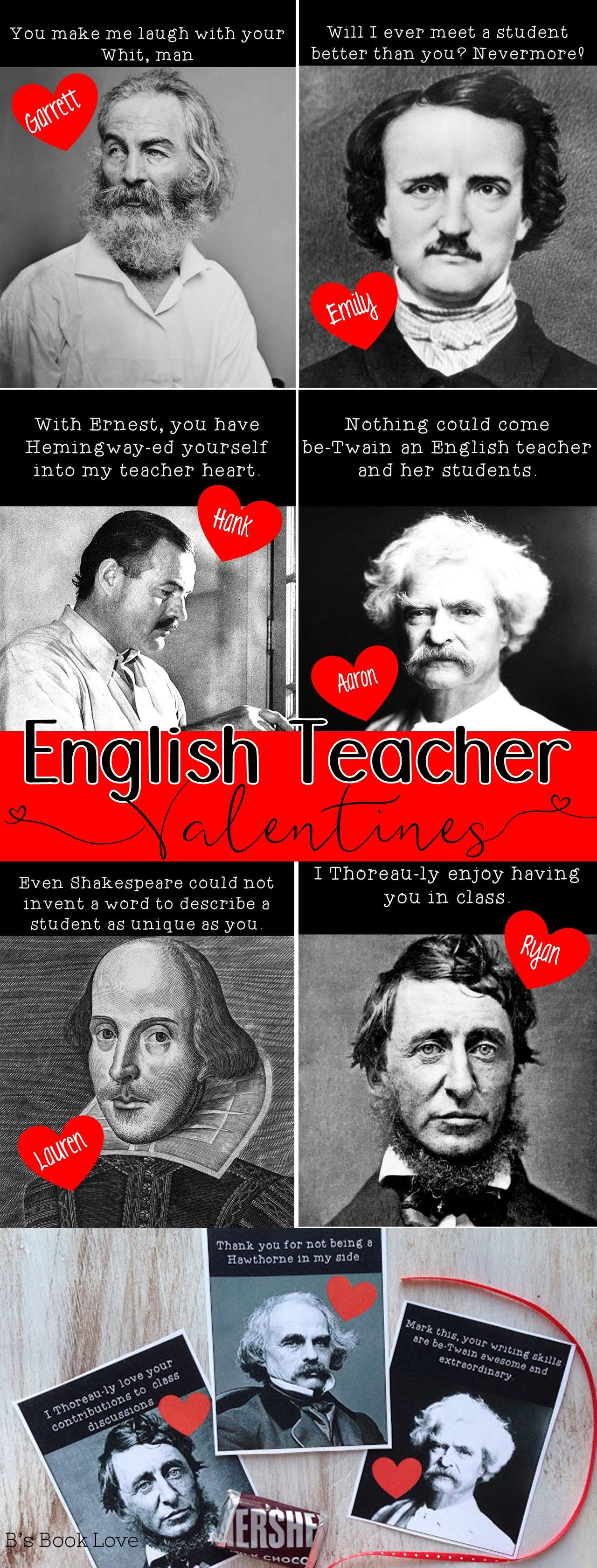Literary Valentines Plus A Valentine S Day Activity For Any Text