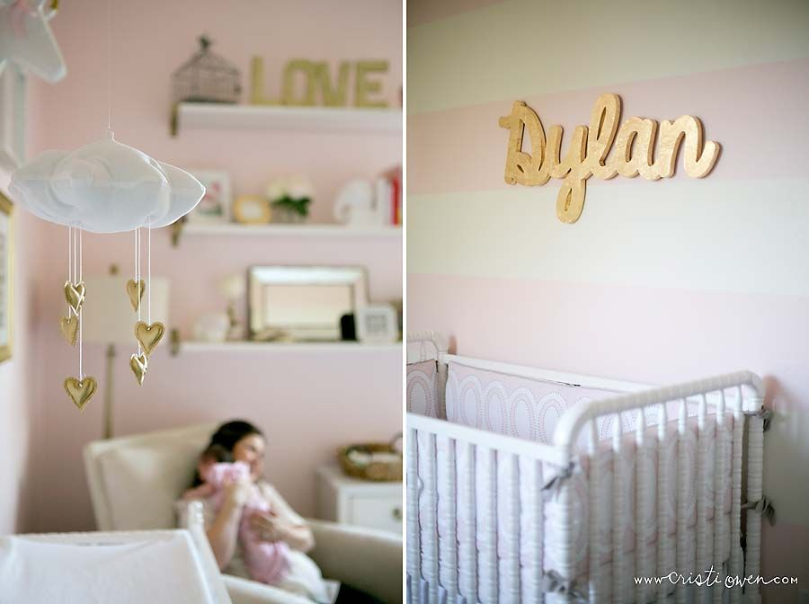 blush and gold nursery Google Search Baby Olivia Pinterest