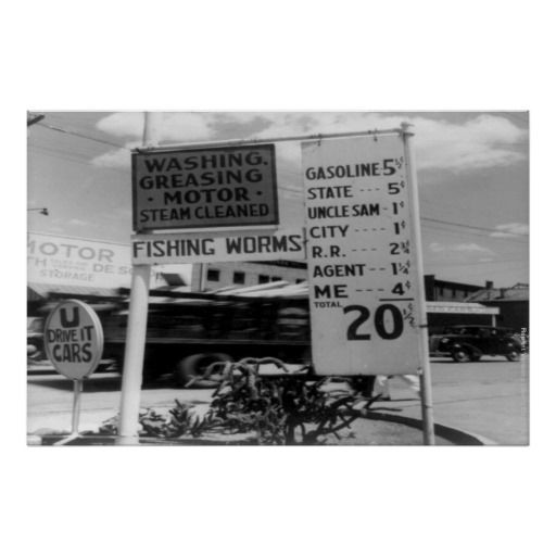 Dorothea Lang Famous Photography Gas Prices Poster Zazzle Com In 2020 Gas Station Prices Gas Prices Old Gas Stations