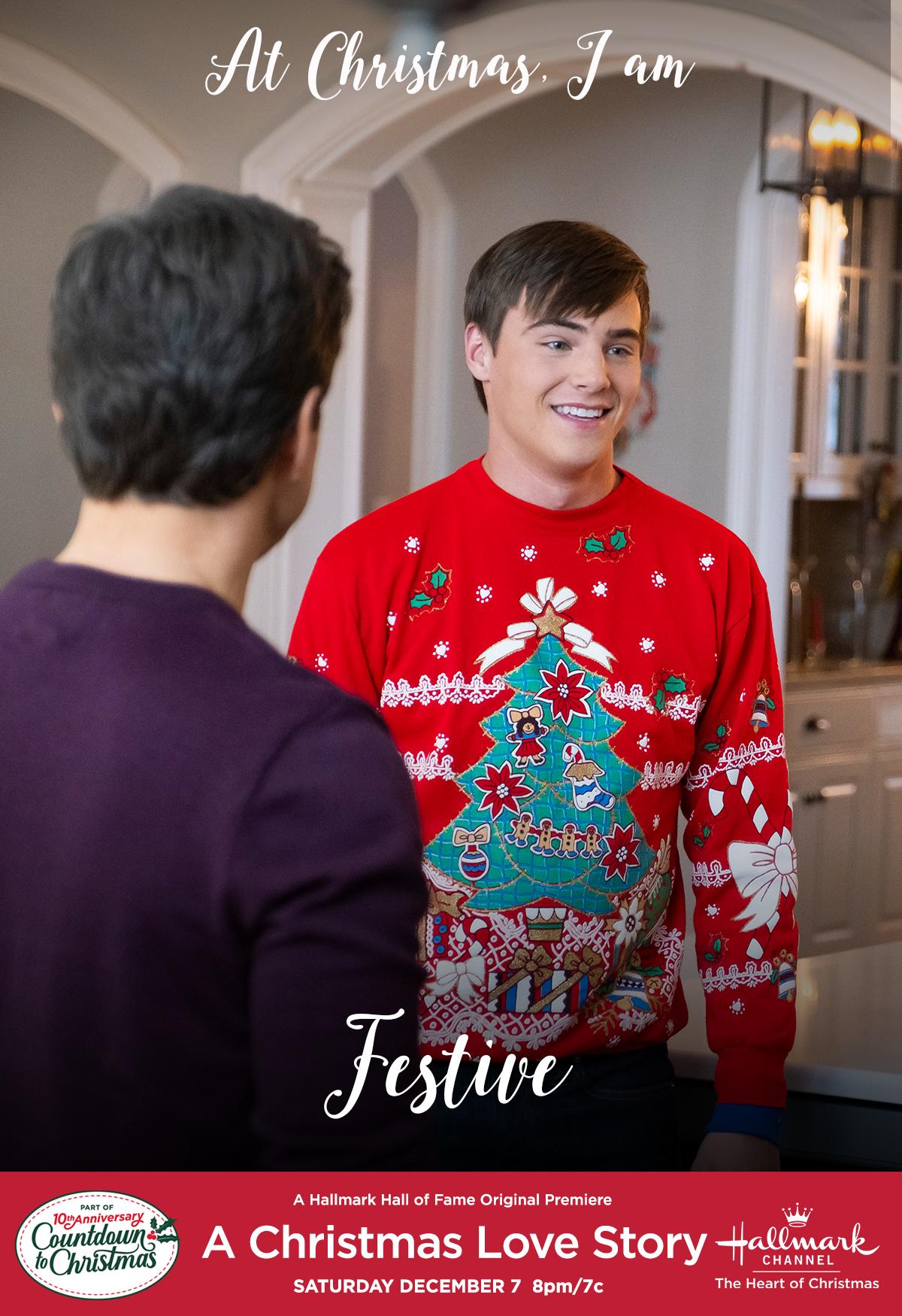 Christmas In Love Hallmark 2020 Are you festive like Danny (Kevin Quinn)? Join us for Hallmark