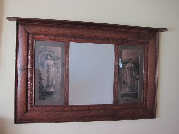 Antique Mirrors, Large Wall Mirrors, Art Nouveau Decor Wall Mirror - PICK UP ONLY