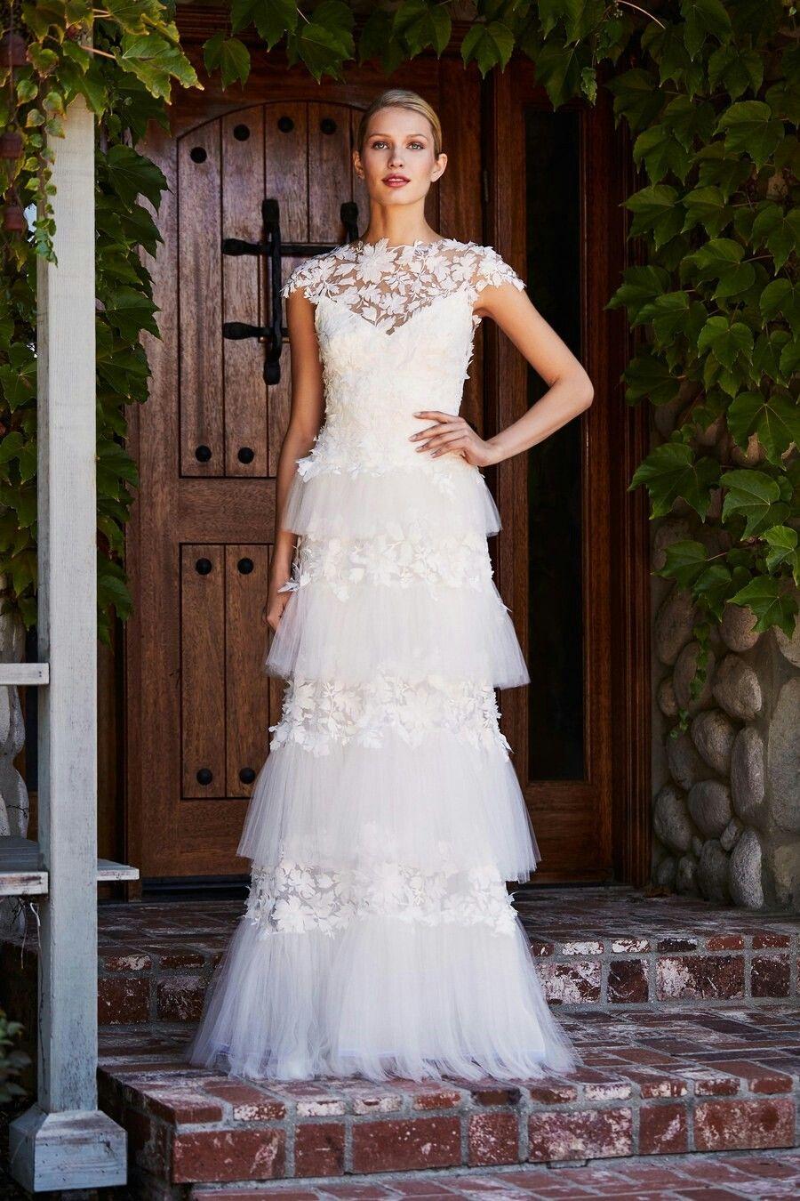 Ungewöhnlich Tadashi Brautkleider Bilder - Hochzeit Kleid Stile ...