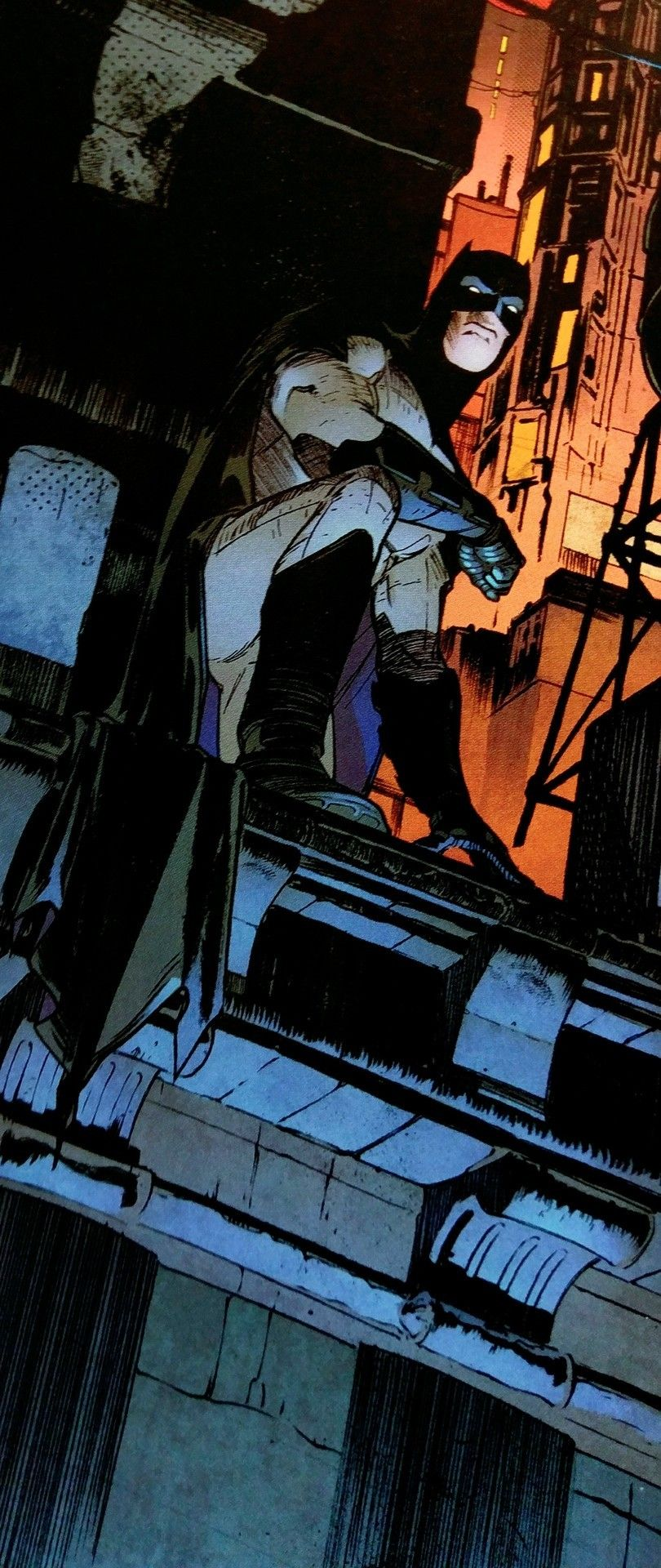 Great use of color on this panel comics