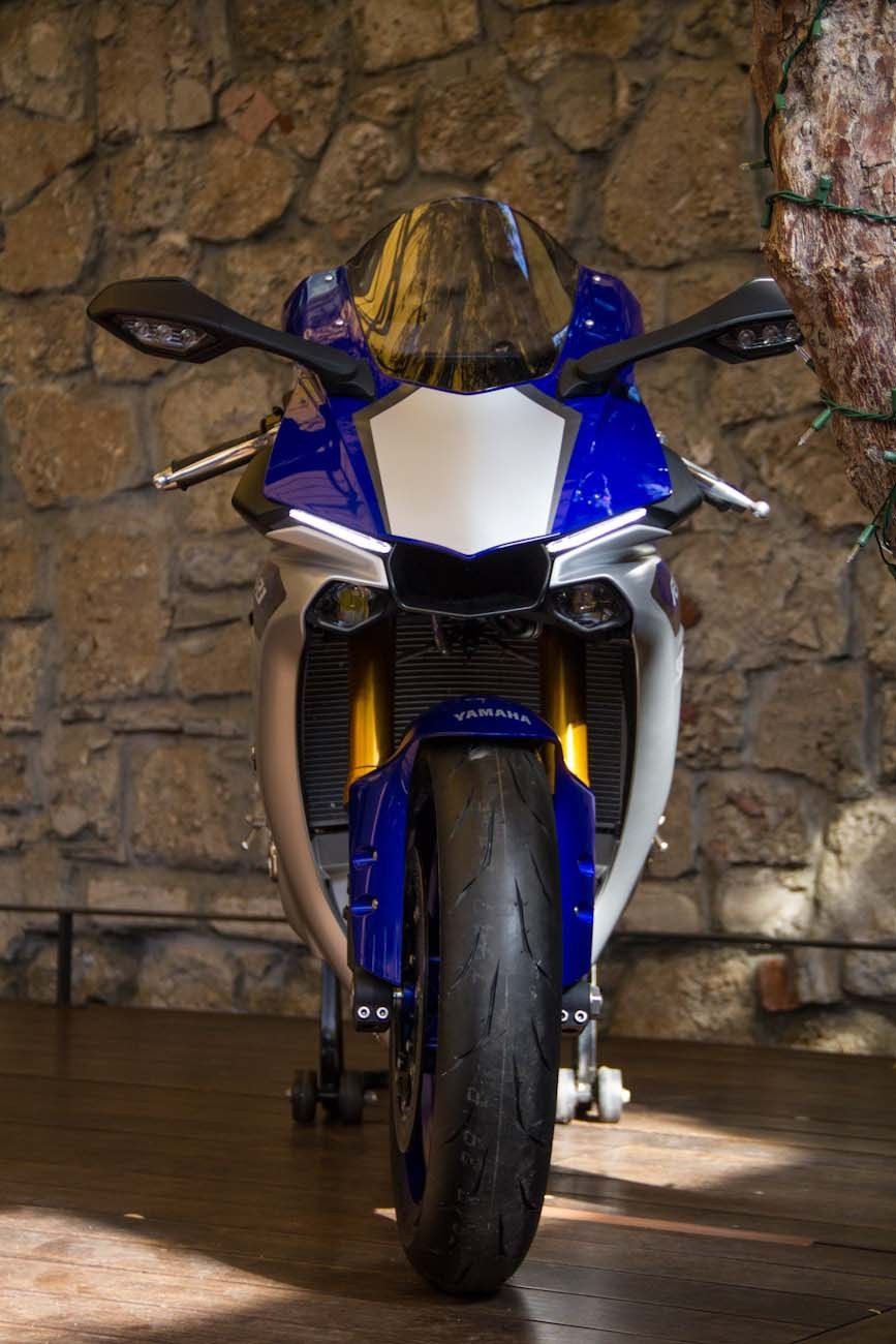 Yamaha YZFR RM First Ride Review GearOpen