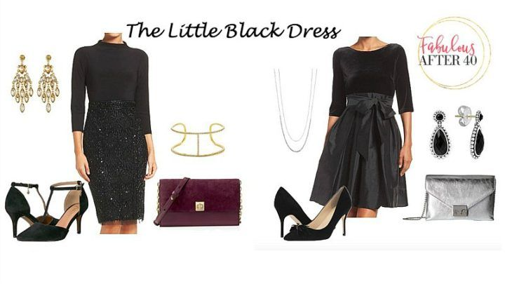 4e31c0f8383f Holiday Party Style – How to Accessorize a Little Black Dress ...