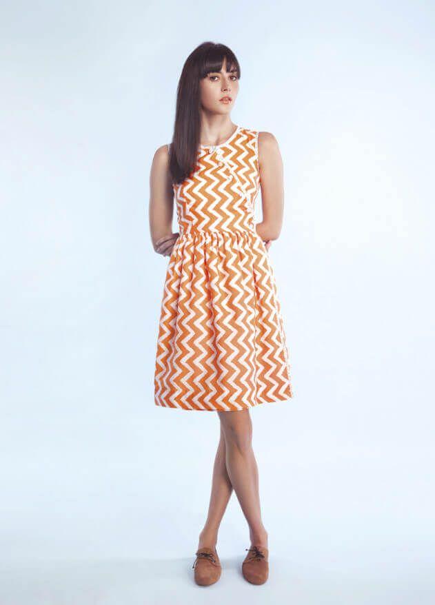 Jerseykleid mit Volant-Saum | Kleider | Pinterest | Gratis ...