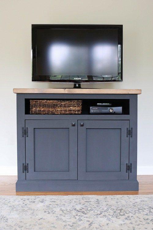 DIY Rustic TV Stand