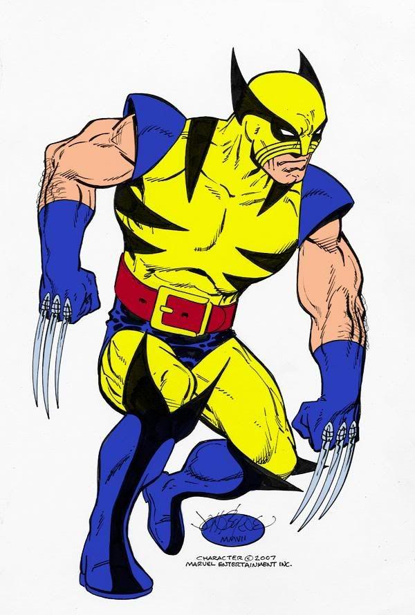 Wolverine by John Byrne | Comic books art, Wolverine art, Wolverine marvel