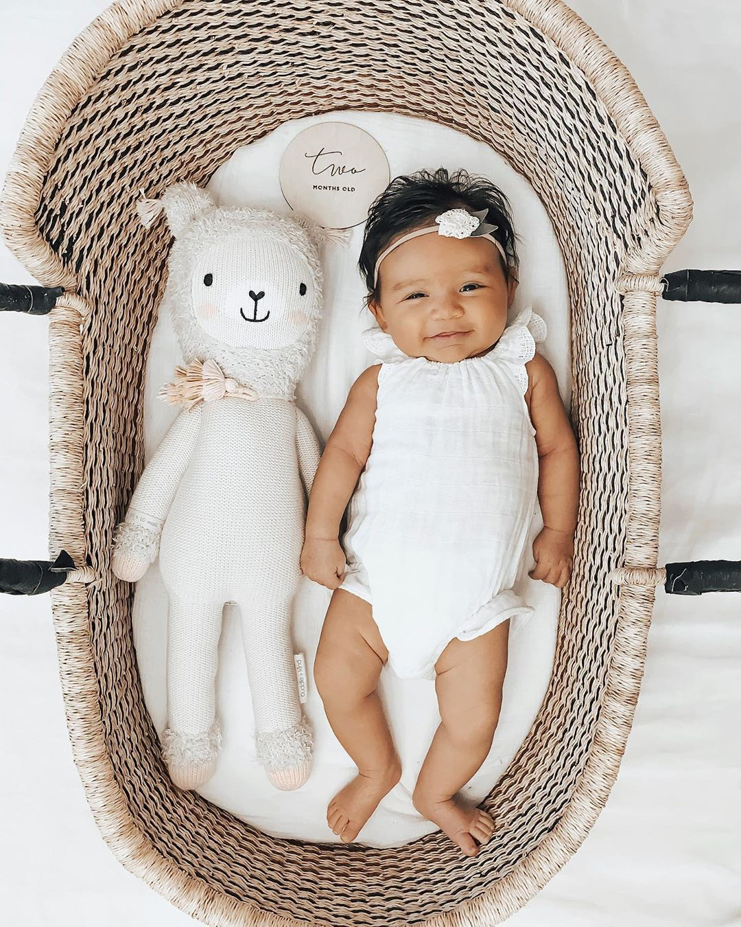 Two Whole Months With Our Real Life Baby Doll Real Life Baby Dolls Moses Basket Baby Changing Pad
