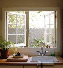 Window Above The Kitchen Sink Is A Must But One That Opens Too A Dream Home Decor Home Home Kitchens