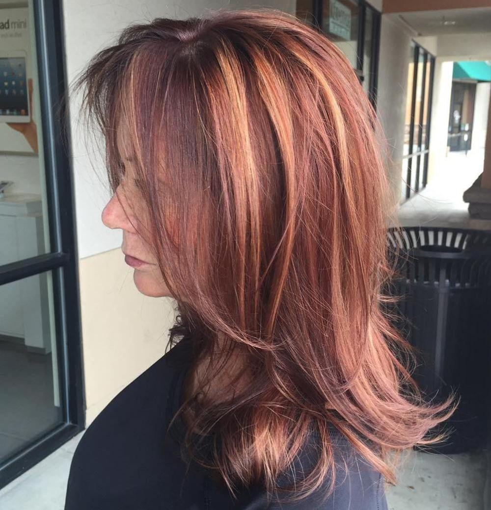 Medium To Long Haircut For Women Over 50 Shorthairstylesforwomen