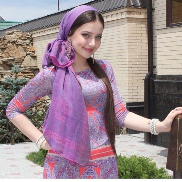 Chechen people are known for being noble and beautiful | Beautiful muslim  women, Beauty women, Muslim beauty