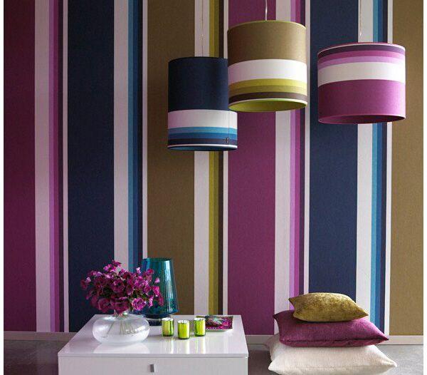 Interior Color purple color interior trend   color interior, modern interiors and