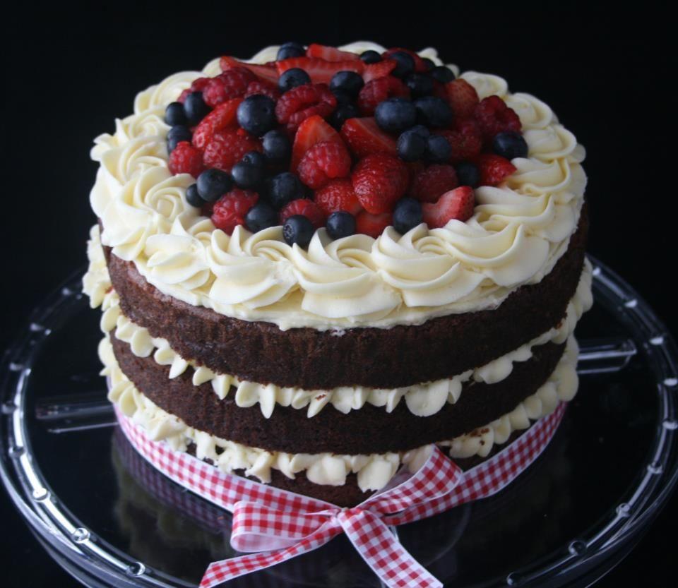 Rustic Red Velvet Red Velvet Cake With Cream Cheese Frosting