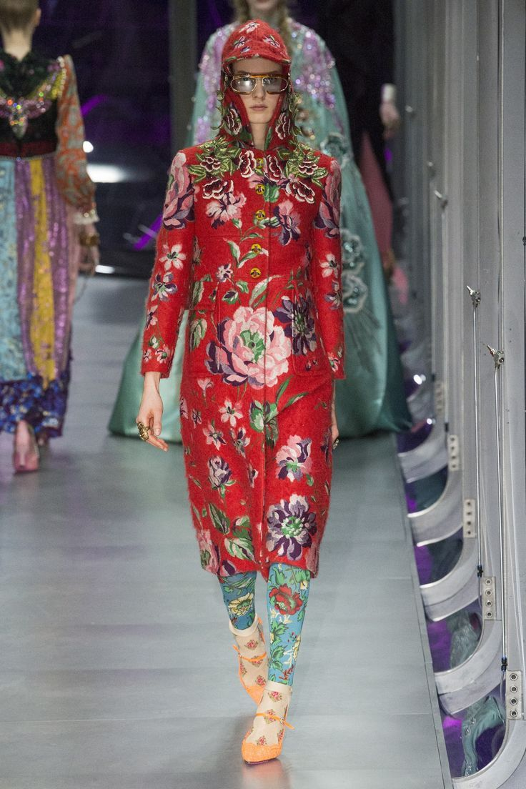 Nice Runway #style #MFW Fall17: Gucci's geek chic is a little vintage, a little rocker, & a lot of more is more... LUXE | STYLE Check more at http://fashionie.top/pin/19725/