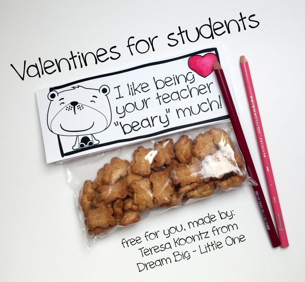 Teacher Valentines For Students