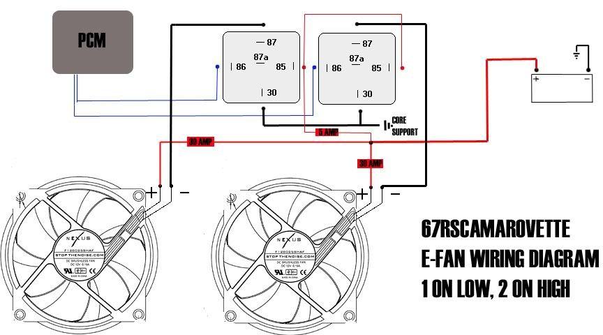 Aftermarket Electric Fan Wiring On Electric Radiator Fan