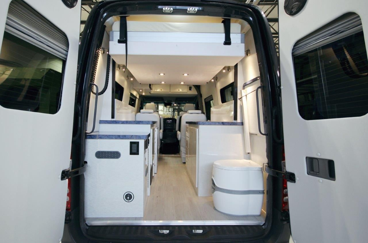 Sprinter with EuroLoft Bed Lift Bed lifts