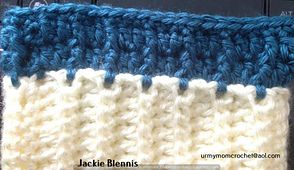 Ravelry: interchangeable double spaced ribbed pattern by jackie blennis