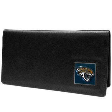 Jacksonville Jaguars Leather Checkbook Cover