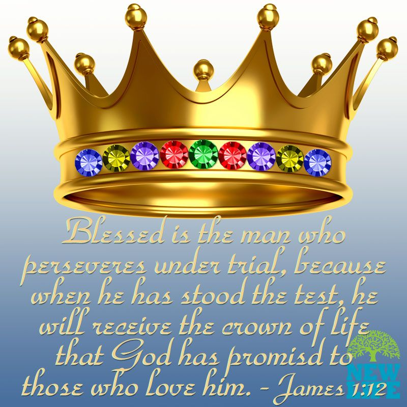 Crown Lesson Plan: Blessed Is The Man Who Perseveres Under Trial, Because