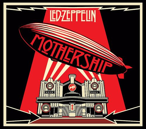 Mothership My High Led Zeppelin Album Covers Led