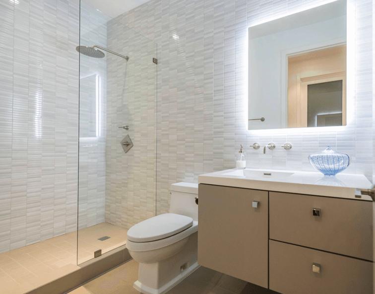Fotos de banheiros modernos e pequenos ideias para for Cocinas modernos pequenos