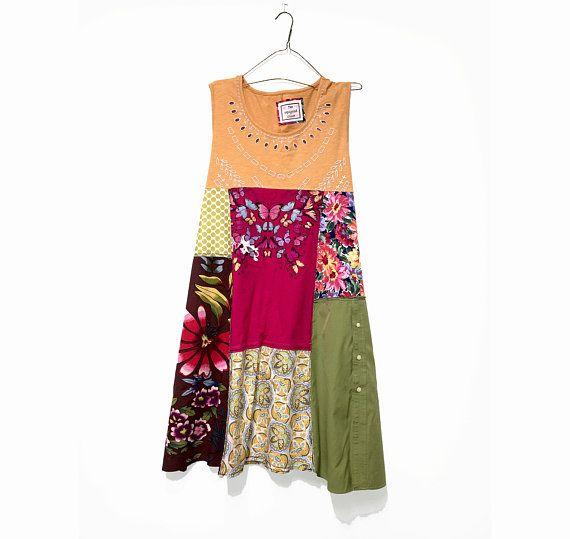 6336d77214b3f Plus Size Boho Summer Dress