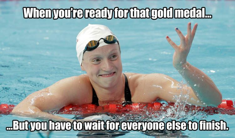 Katie Ledecky Swimming Funny Swimming Quotes Funny Swimming Memes