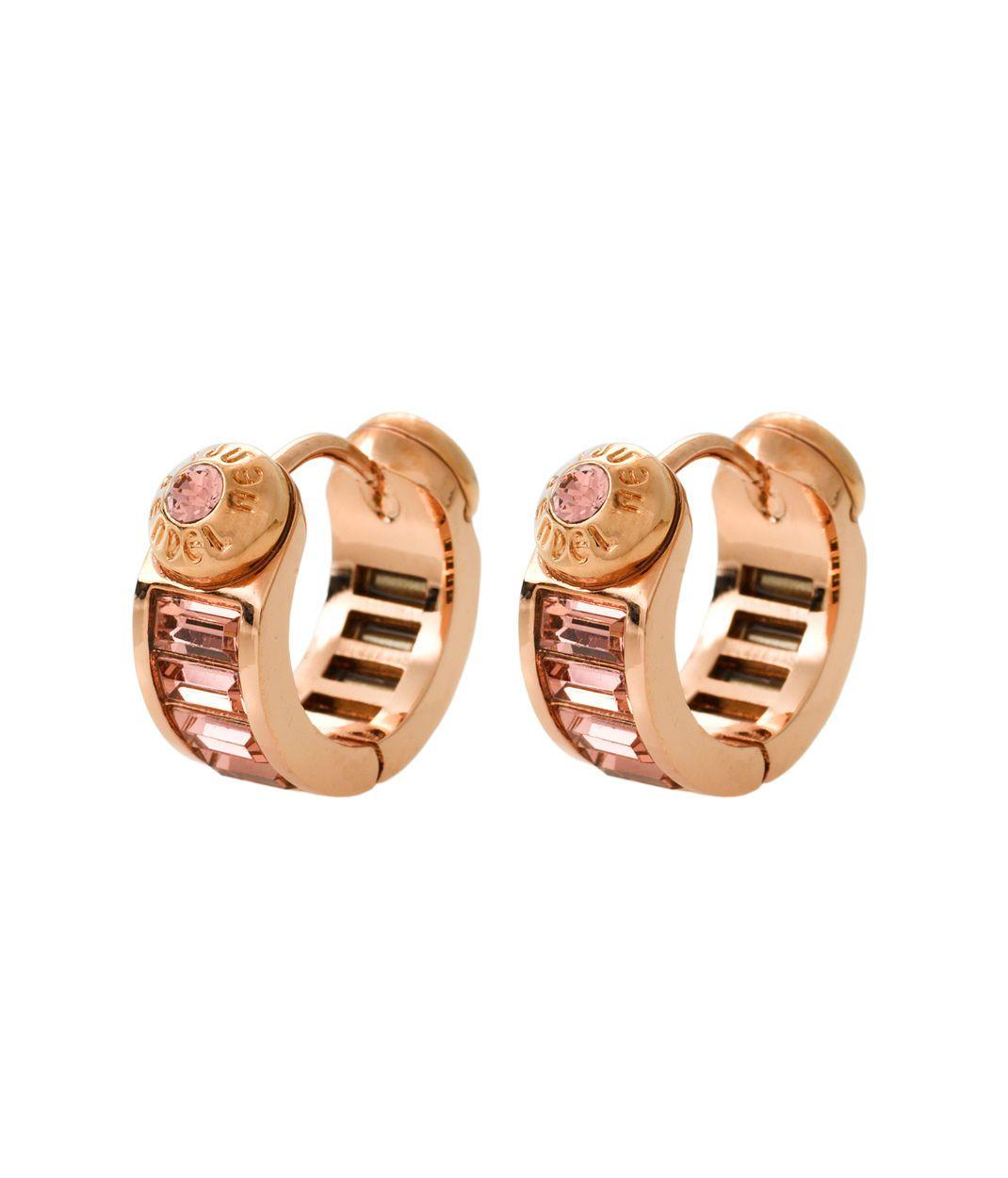 Harry Huggy Gold Hoop Earrings Designed By Henri Bendel