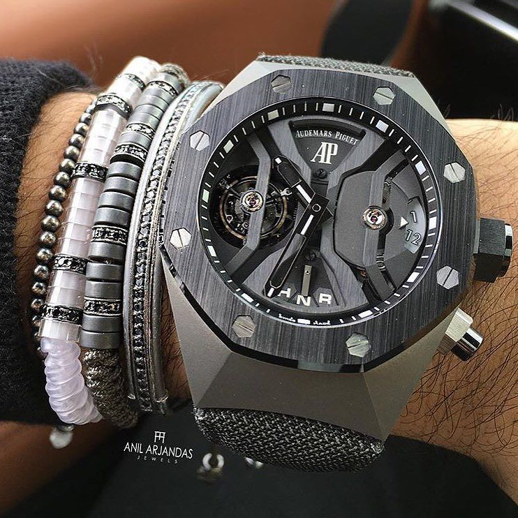 Audemars Piguet Royal Oak Concept Gmt Tourbillon X Anil Arjandas