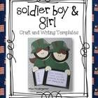 Honor the great men and women that fight for our country by making these adorable soldier boys and girls.   Perfect for Veterans Day, Memorial Day,...