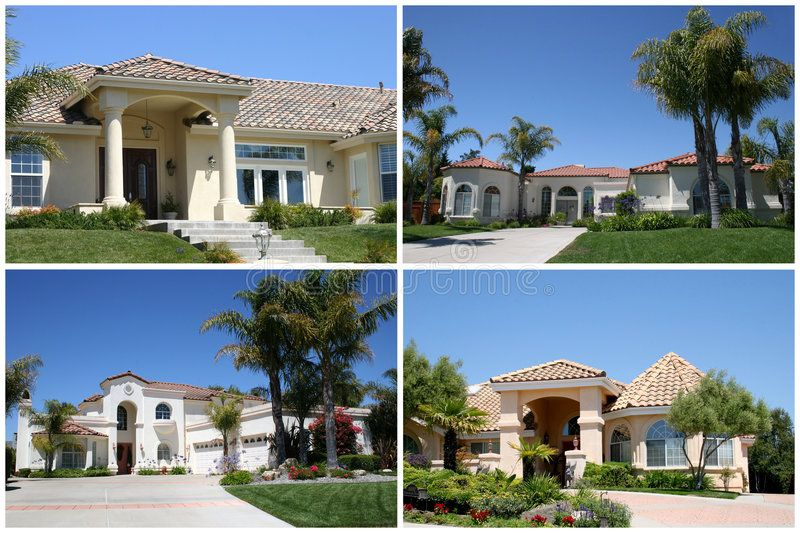 Luxury Homes Collage Group Of Four Luxury Homes In California Sponsored Collage Homes Luxury Group Cal Luxury Homes House Styles Home Decor Hacks