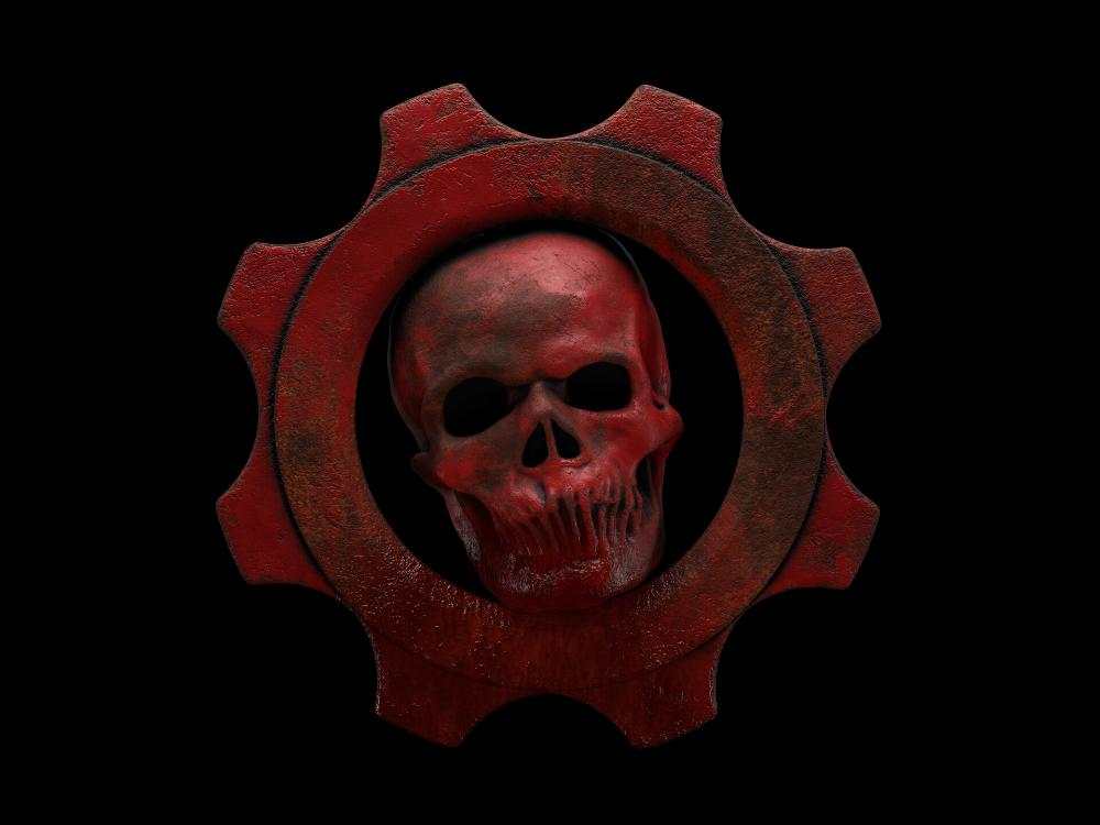 Artstation Gears Of War Logo Ivan Seliverstenko Gears Of War War Artwork