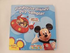 PLAYHOUSE DISNEY DVD SAMPER, LITTLE EINSTEINS, MICKEY MOUSE CLUBHOUSE