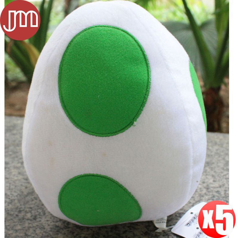 Find More Movies & TV Information about New 5 PCS Super Mario Bros Plush Yoshi Egg Soft Toy Doll Stuffed Animal Green 20cm Anime Juguetes Brinquedos Wholesale,High Quality toy block,China toy nesting dolls Suppliers, Cheap doll brooch from M&J Toys Global Trading Co.,Ltd on Aliexpress.com