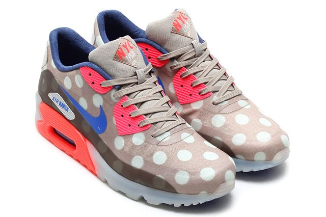 NIKE AIR MAX 90 ICE QS (NYC) Sneaker Freaker | SneakerHead