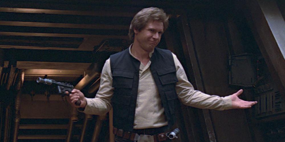 Han Solo - Endor battle