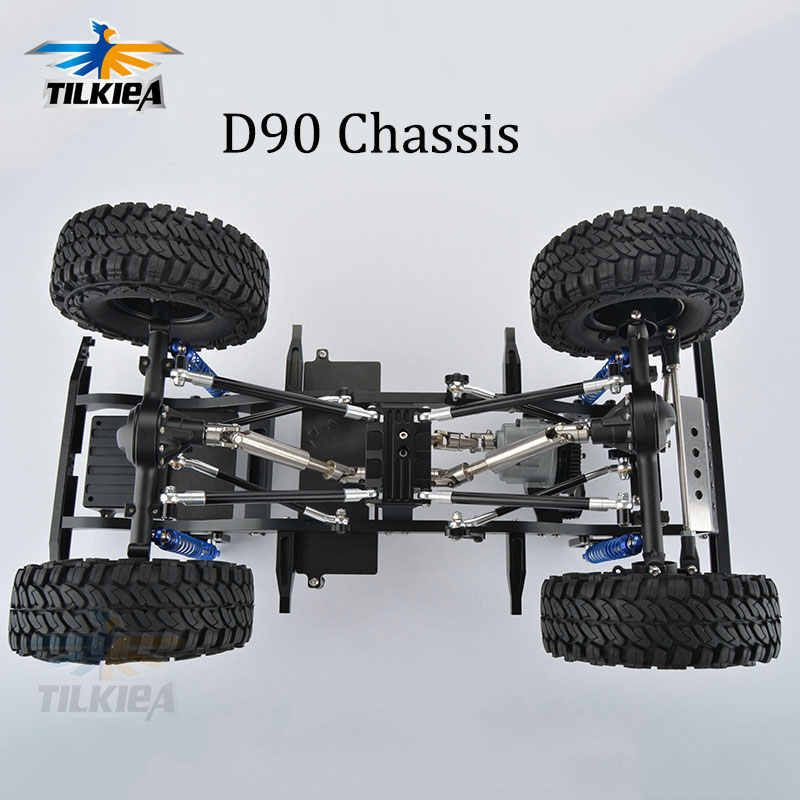 1 10 Aluminum 2 2 Beadlock Wheels 125mm Tires For Rc Axial Traxxas Hpi Ebay Beadlock Wheels Rc Cars Traxxas