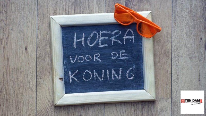 Wij wensen jullie een gezellige Koningsdag :)