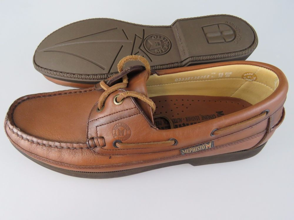 MEPHISTO Spinnaker Tan Brown Leather