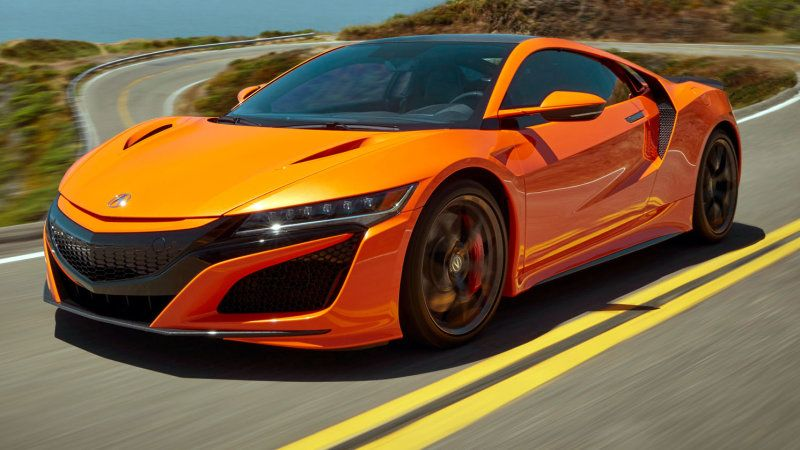 Refreshed 2019 Acura Nsx Revealed In California Nsx Acura Nsx Honda Sports Car