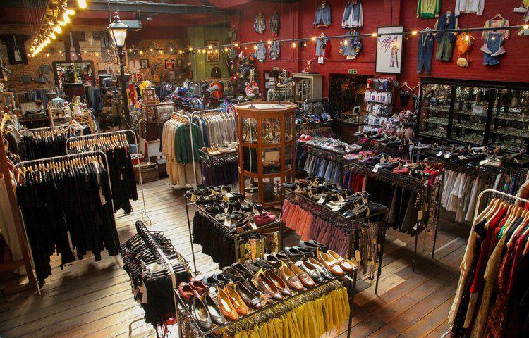 Londons Best Vintage And Second Hand Shops Lesen Blitz