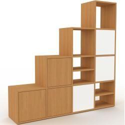 Sideboard Eiche – Designer-Sideboard: Türen in Eiche – Hochwertige Materialien – 156 x 157 x 35 cm,