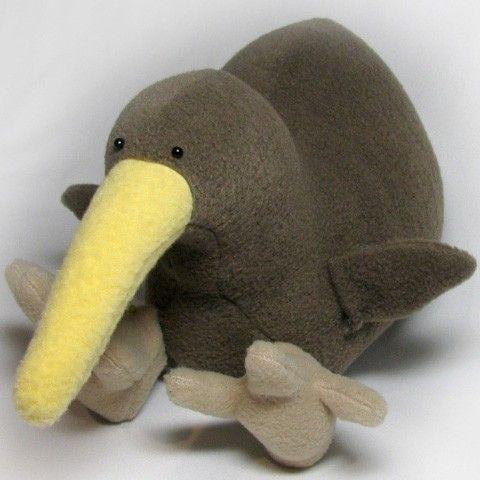 I Must Make This I Love Kiwi S New Zealand Kiwi Bird Plush Toy